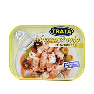 Trata Greek Musky Octopus in Olive Oil 100g