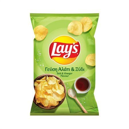 Lay's potato chips with Salt and Vinegar 90g