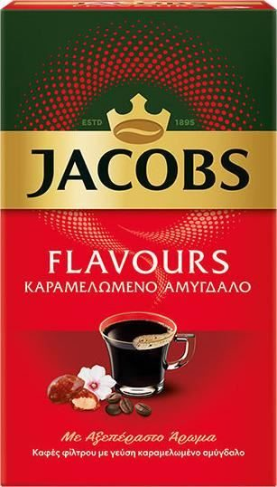 Jacobs filter Coffee caramelised almond 250g