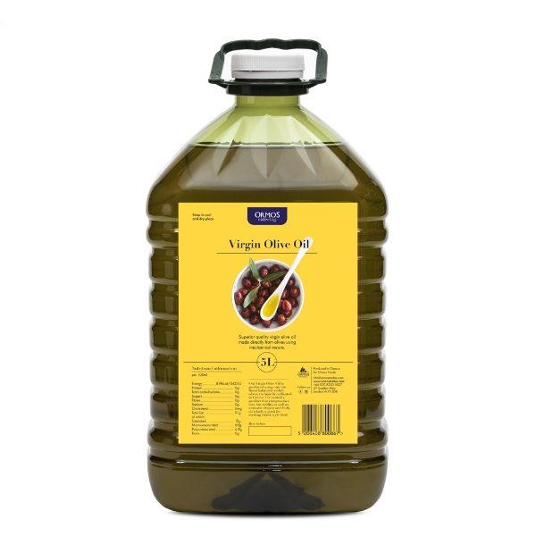 ormos olive oil 5L-bottle