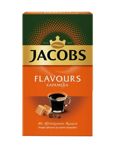 Jacobs filter Coffee caramel flavour 250g