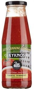 Kyknos finely chopped tomato 680gr