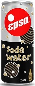 Epsa Soda water Carbonated cans 330ml