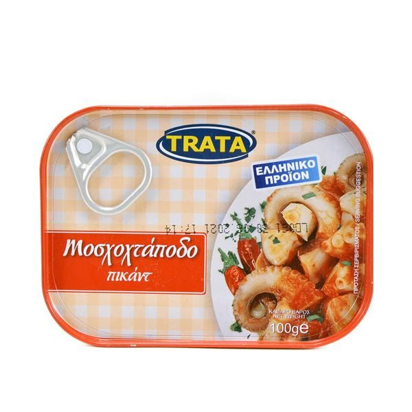 Trata Greek Musky Octopus in Piquant Sauce 100g