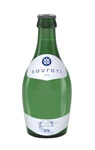 Souroti Sparkling Natural Mineral Water Bottle 250ml