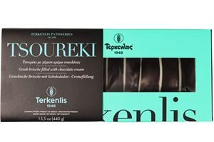 Tsoureki chocolate cream dark coating filled 440g