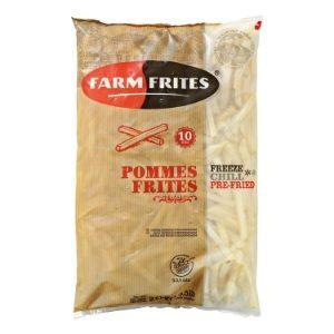 Fries skin on