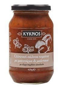 Kyknos Tomato sauce with Mushrooms and parsley 425g