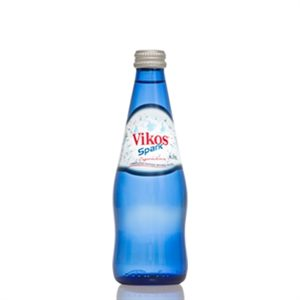VIK001_Vikos Natural Mineral Water Sparkling_330ml