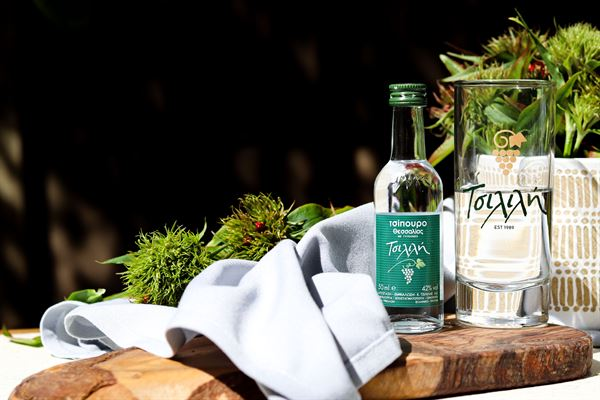Tsipouro Miniature with Anise 50ml