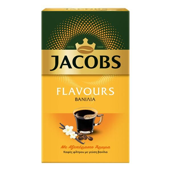 Jacobs filter Coffee vanilla flavour 250g